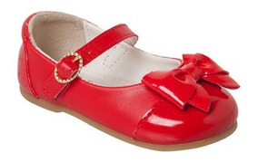 5fde3282d Sapato Vermelho Para Bebê Da Pimpolho Numero 16 Sapatilhas ...