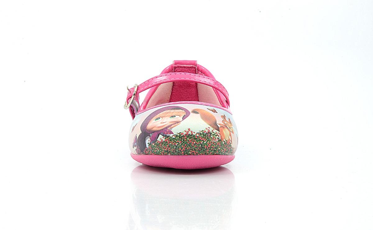 27272eb4f5 sapatilha infantil menina feminina masha e o urso rosa pink. Carregando zoom .