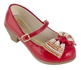 e5ae43fd1 Sapato Infantil Molekinha Com Salto - Sapatos com o Melhores Preços ...