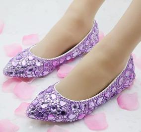 9e5dd8eba Sapato De Debutante Lilas - Sapatos com o Melhores Preços no Mercado ...