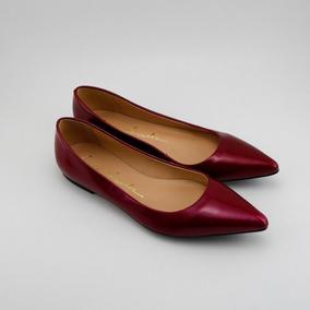 9fd6fe286 Sapatilha Luiza Barcelos Bico Fino Brilhante Original - Sapatos no ...