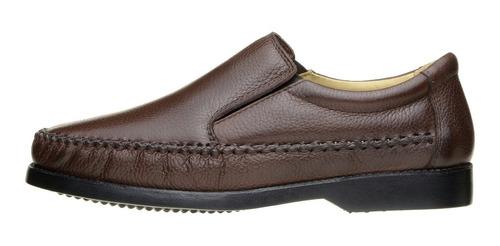 sapatilha masculina sapato clacle couro floater conforto 165