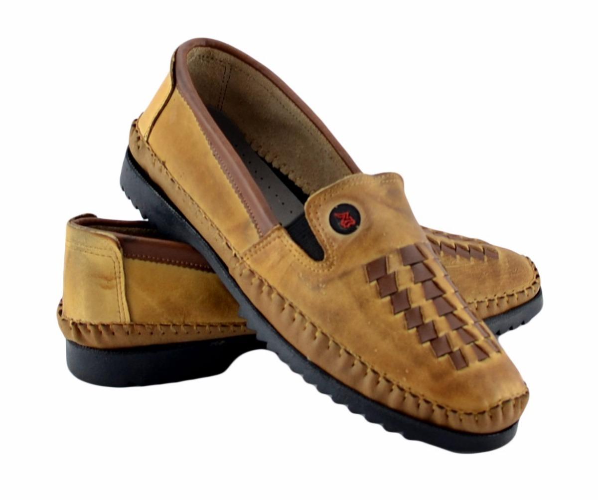 3d8e0acc6c4 Sapatos Masculinos Sapatilha Couro Mocassim Masculino Tran - R  36 ...