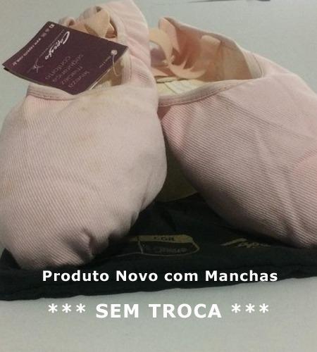 500c2e87d4 Sapatilha Meia Ponta Pluma Capezio Ballet Com Defeito - R  25