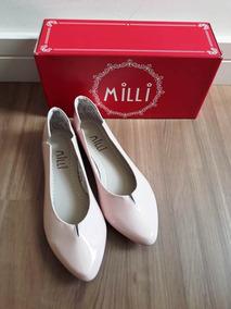9902a7d9cc Sapatilha Milli Verniz - Sapatos no Mercado Livre Brasil