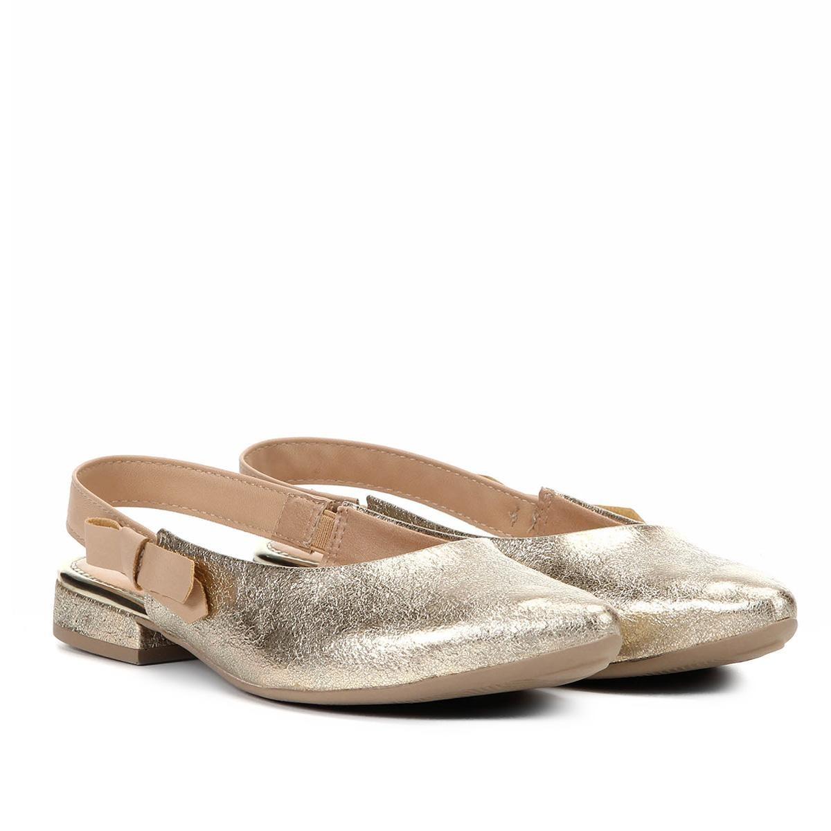 4c16a4563 sapatilha mississipi chanel bico fino metalizada feminina. Carregando zoom.