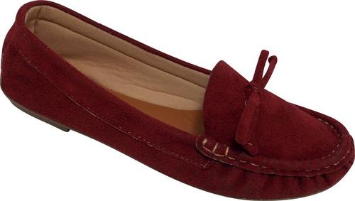 sapatilha mocassim feminino costurado à mão varejo e atacado