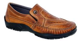 d47b3f82e Sapatilha Masculina Couro Legítimo - Sapatos com o Melhores Preços ...