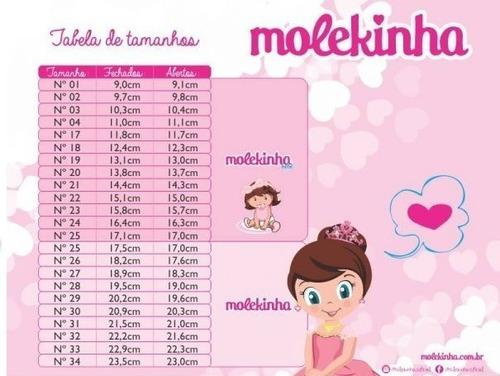sapatilha molekinha 2106183