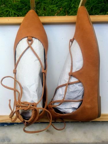 sapatilha my shoes scarpin camel tam 36