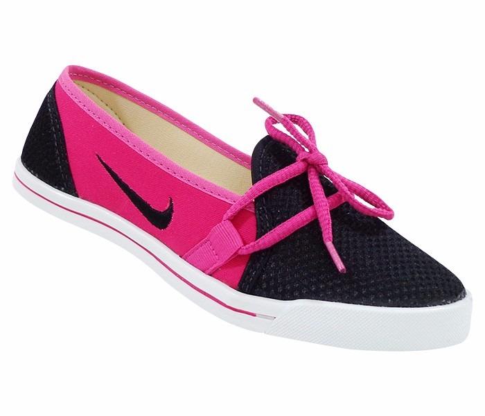 7ae7981cbe7 Sapatilha Nike Rosa E Preta Frete Grátis - R  100