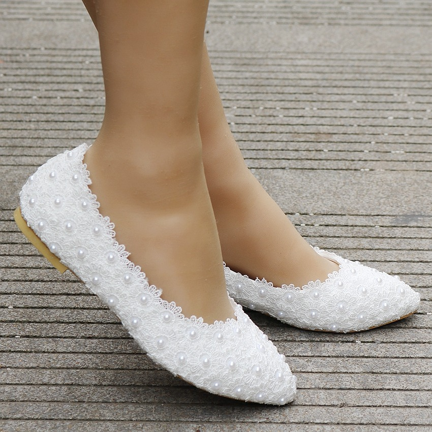 d02656f7f Sapatilha Noiva Personalizada Branca Renda - R$ 239,00 em Mercado Livre