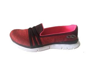 9b596204565 Sapatilha Feminina Olympikus Angel Stripe Feetpad Tênis