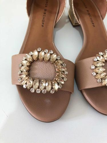 sapatilha ou sandália jorge bichoff nude