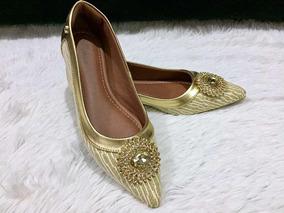 65c724bf0e Sapato Princesa Realeza Feminino Sapatilhas - Sapatos no Mercado Livre  Brasil