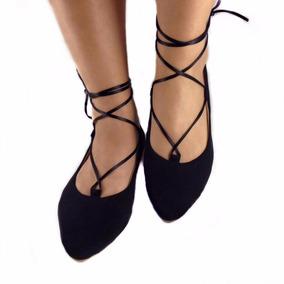 5872b5437 Sapatilha Amarra Na Perna - Sapatilhas para Feminino no Mercado Livre Brasil