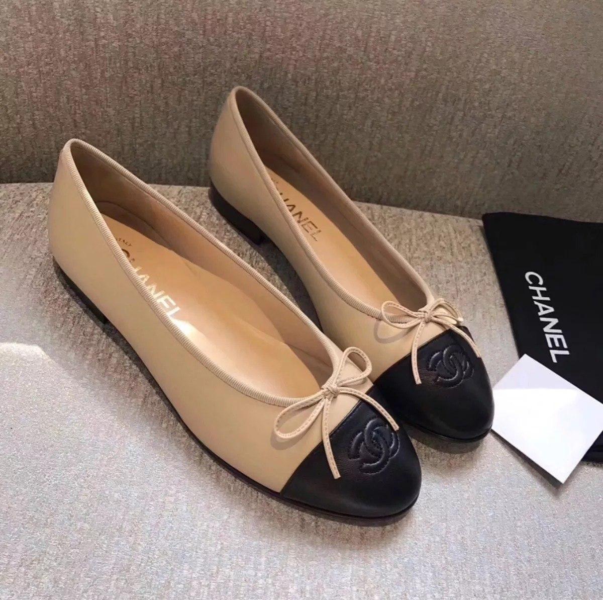 9de7bed26 Sapatilha Sapato Calçado Bale Da Marca Chanel Feminino. - R$ 599,00 ...