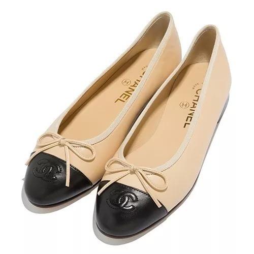 6782a6ab3c Sapatilha Sapato Calçado Bale Da Marca Chanel Feminino. - R  599