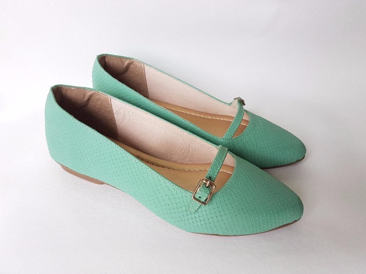 9cd10f419e sapatilha sapato feminino couro legítimo delicada bico fino. Carregando  zoom.
