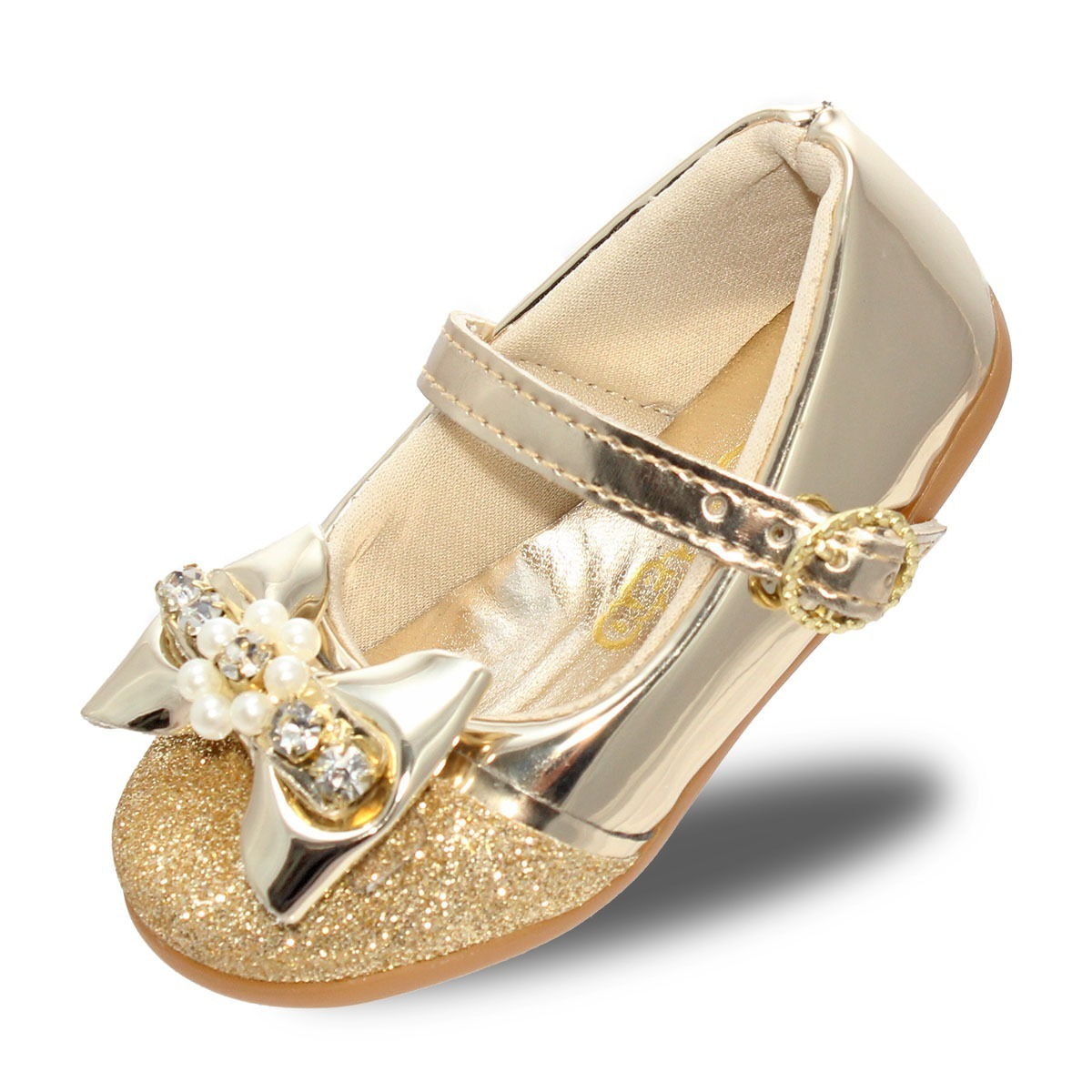5ad2c6ca1 sapatilha sapato infantil feminina meninas dourado promoção. Carregando  zoom.