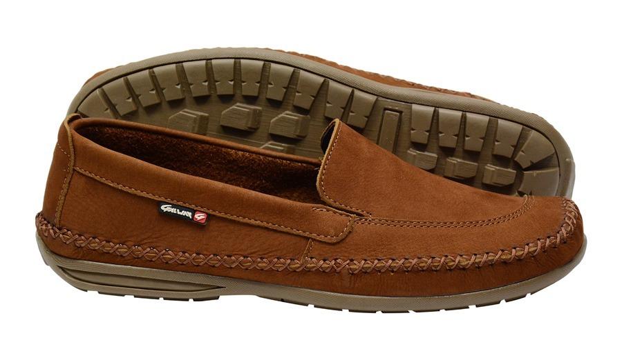 2a6e63b538 sapatilha sapato mocassim em couro nobuck galway 765. Carregando zoom.