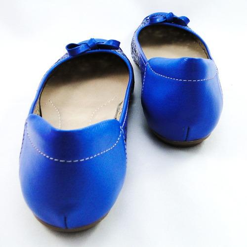 sapatilha s&c vazada couro azul royal laço neftali 1414-36