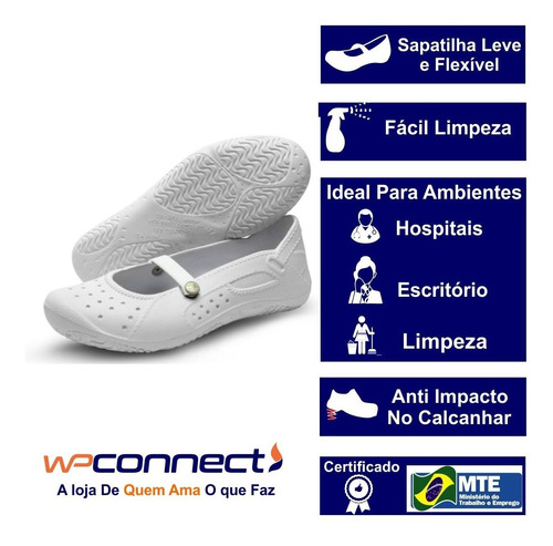 sapatilha soft works profissional, feminina, clinicas