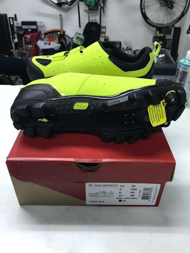 c230f695da9 sapatilha specialized comp mtb verde 40 br promocao. Carregando zoom.