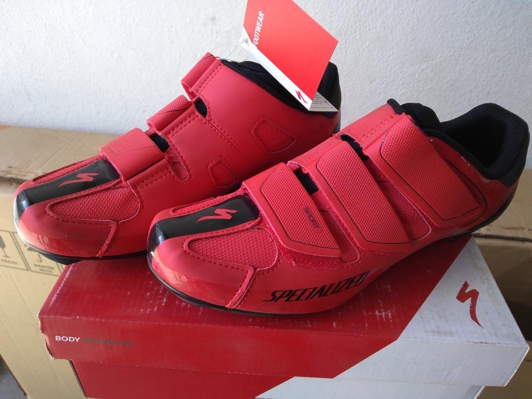 29e018e3f9c sapatilha specialized sport road red black. Carregando zoom.