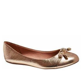 090d3e2e33 Sapatilha Cia Dourada - Sapatos no Mercado Livre Brasil