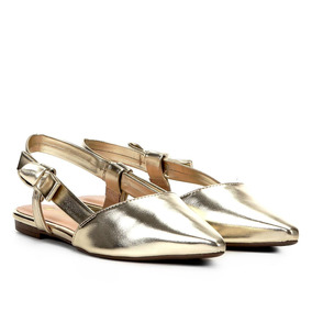 86daa254f Rasteira Chanel Feminino Sapatilhas Via Uno - Sapatos no Mercado ...