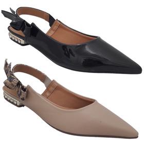 e803043205 Vizzano Sapato Chanel Preto Salto Feminino Sapatilhas - Sapatos no ...