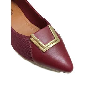 5a88aa8372c Sapato Fechado Com Fivela Usaflex Feminino Plataforma - Sapatos no ...