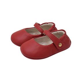 deec63f4f4 Sapato Feminino Spatifilus Couro Vermelho Boneca - Sapatos no ...