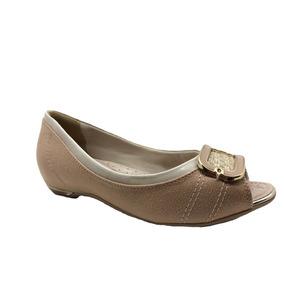 f4b0a39c5 Sapatilhas Para Idosos Feminino Peep Toe Comfortflex - Sapatos no ...