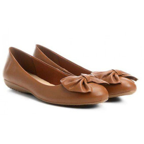 5347916ee Sapatilha Bottero Vazado Feminino - Sapatos Marrom no Mercado Livre ...