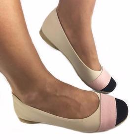 820d7538bb Sapatilha De Ballet Com Fita Tamanho 33 34 Feminino - Calçados ...