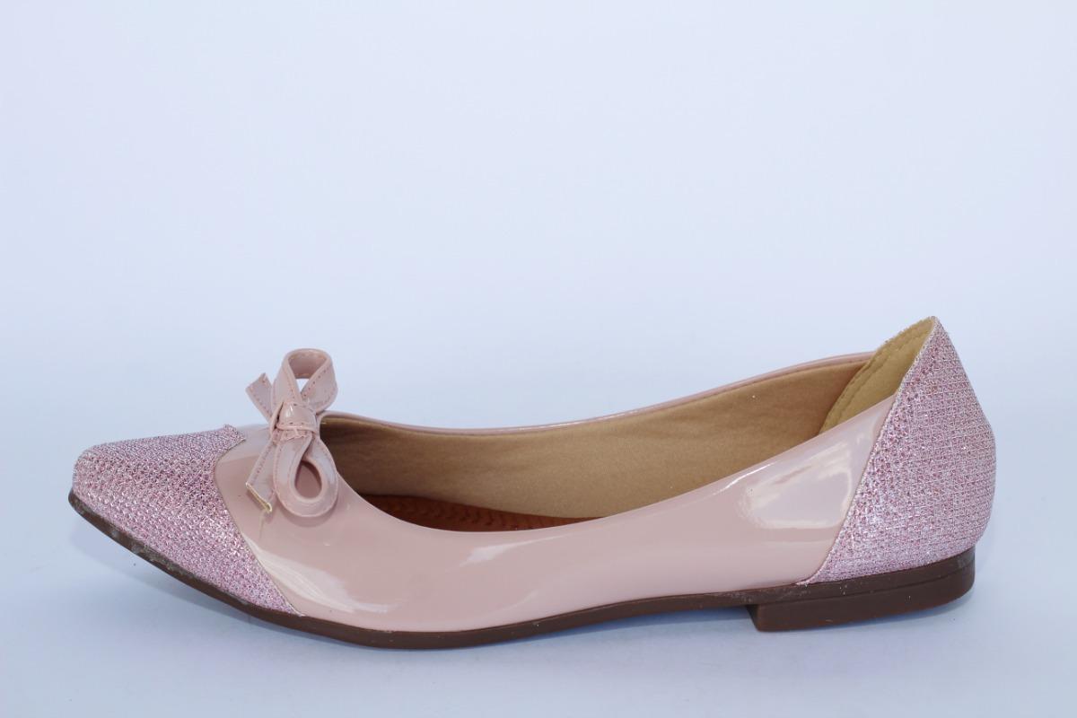 c21e9ab45d sapatilhas feminina bico fino verniz com brilho lindas! Carregando zoom.