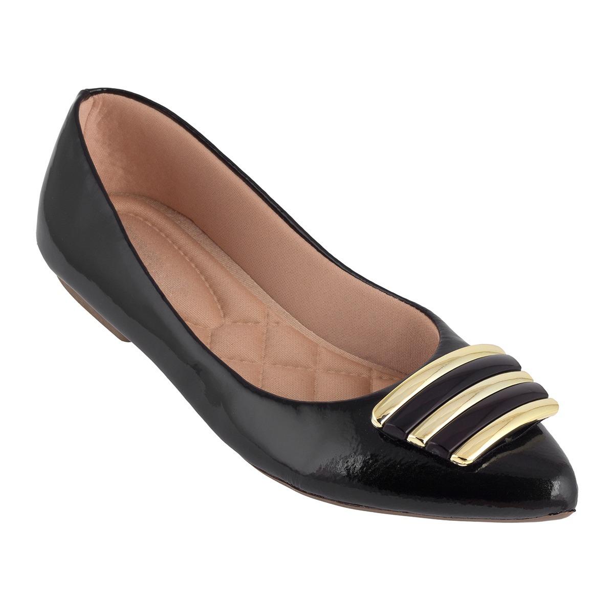 16026f146 sapatilhas feminina bico fino verniz linda /confortavel lht. Carregando  zoom.