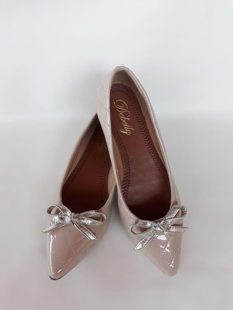 b87a582d1 sapatilhas feminina bico fino verniz linda e confortável!! Carregando zoom.