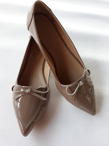 402faeb3e Sapatilha Bico Fino Verniz Preto E Branco Feminino - Sapatos com o Melhores  Preços no Mercado Livre Brasil