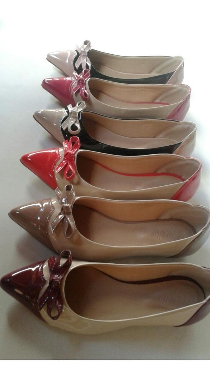 f6bd399b7 sapatilhas feminina verniz bi-color atacado 6 pares !!! Carregando zoom.
