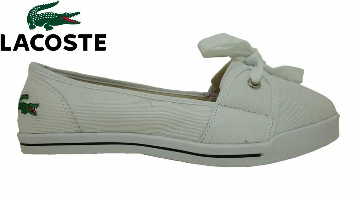 e11e23f531f sapatilhas tenis lacoste feminina modelo 2016 promoção. Carregando zoom.