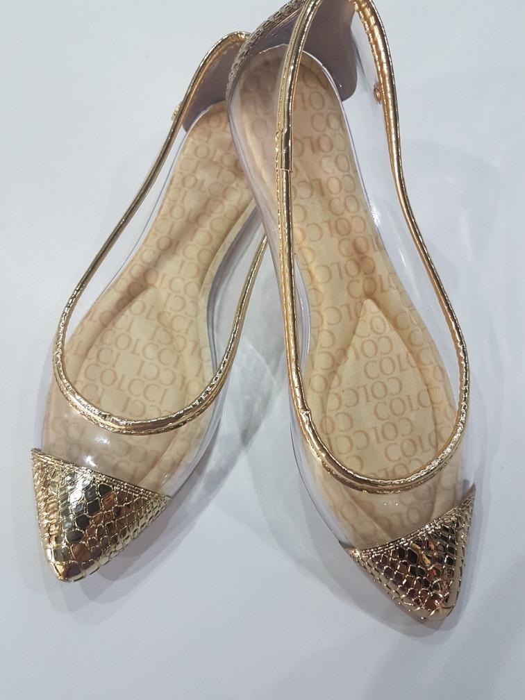 3023215bbc sapatilia feminina colcci transparente dourada. Carregando zoom.