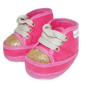 bdefce1fb Sapato Dourado Para Bebe Tamanho 16 - Calçados, Roupas e Bolsas no ...