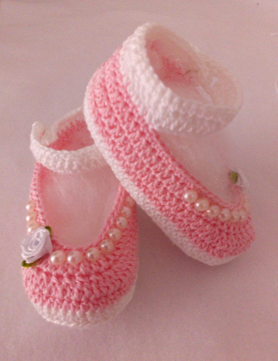 360244fe4 Sapatinho De Croche By Ateliê Maria Simão - R$ 30,00 em Mercado Livre