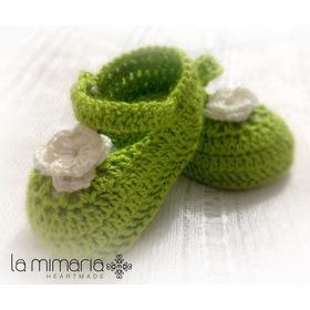 Sapatinho Para Recém Nascido Em Crochê