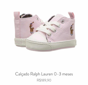 2ec89a129 Sapatinho De Bebe Ralph Lauren no Mercado Livre Brasil