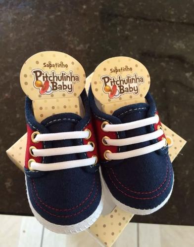 sapatinhos bebê pitchulinha kit 20un  frete grátis promocao