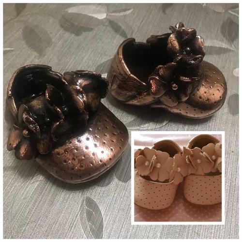 sapatinhos de bronze